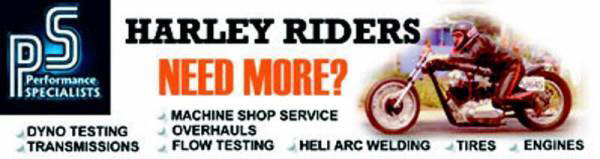 Performance Specialists - Offering Harley Riders More