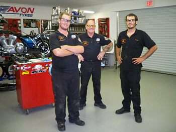 Kelly's Performance Specialist's Staff for 2009